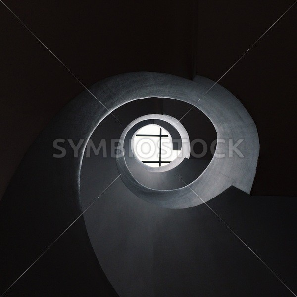 Abstract Spiral Tunnel - Symbiostock Express Demo