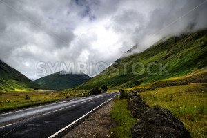 Road Towards Green Hills - Symbiostock Express Demo