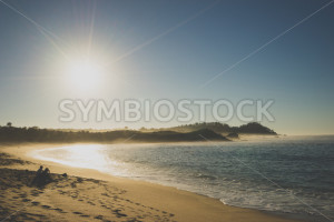 Sunny Beach Coastline - Symbiostock Express Demo